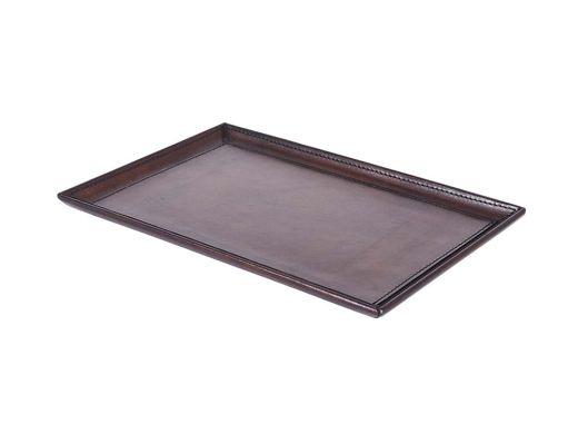 Brown Leather Tray Medium