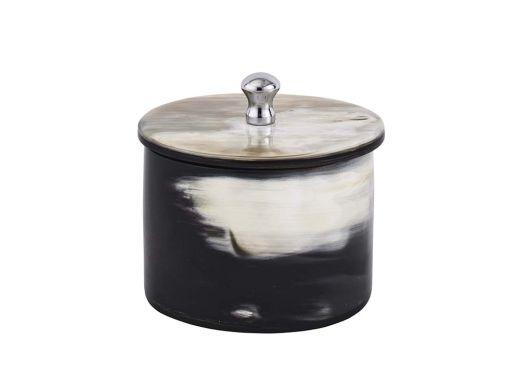 Horn Cannister Black
