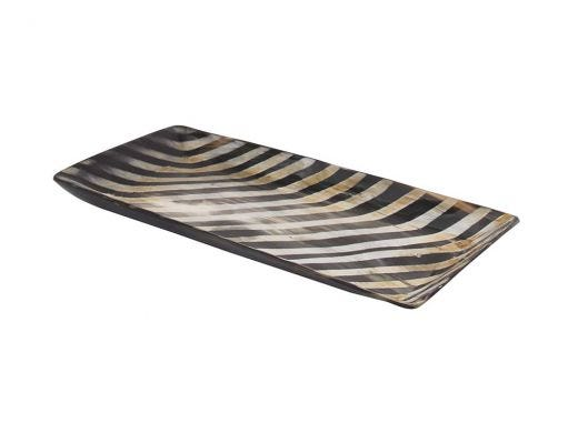 Horn Striped Tray