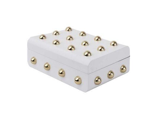 Gold Balls White Box Small