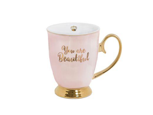 You Are Beautiful Mug, Blush