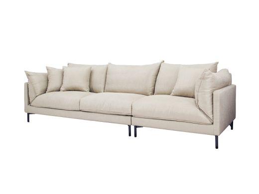 Julian 4 Seat Sofa, Oat