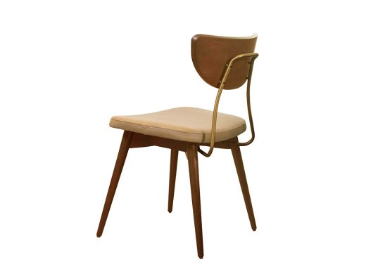 Parker Side Chair, Leather