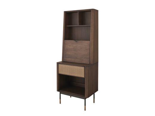 Parker Rattan Tall Cabinet