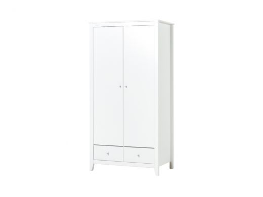 Wardrobe With 2 Drawers and 2 Doors