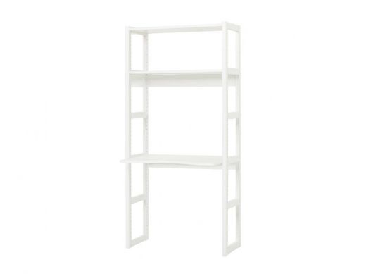 Storey Section with 2 Shelves and Desktop