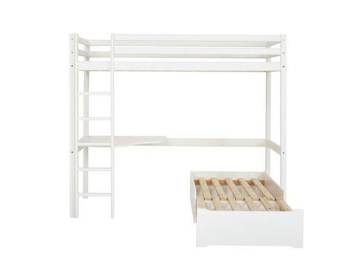 BASIC Mega bed with lounge-modulee and desk