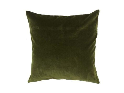 Moss Green Velvet CushionCover