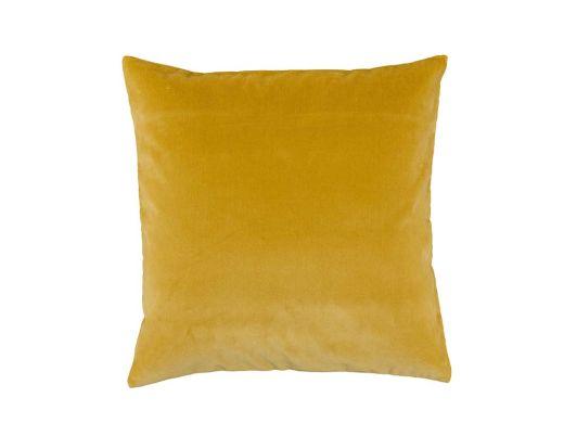 Mustard Velvet Cushion Cover