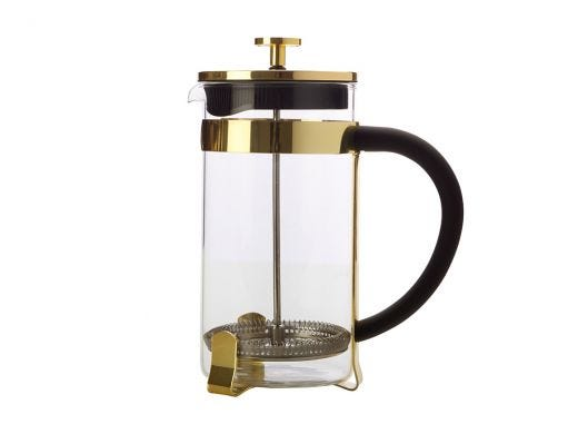 Coffee Plunger 1L Gold