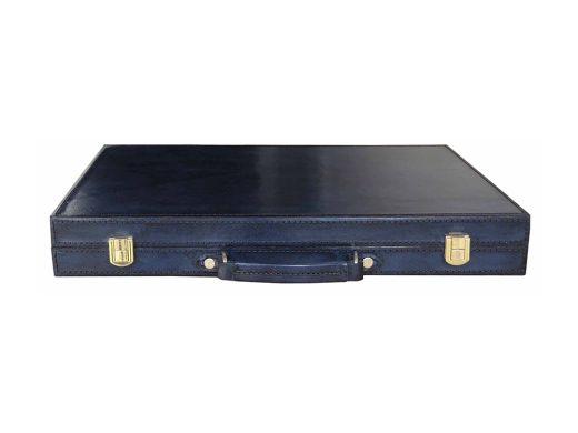Prussian Leather Backgammon