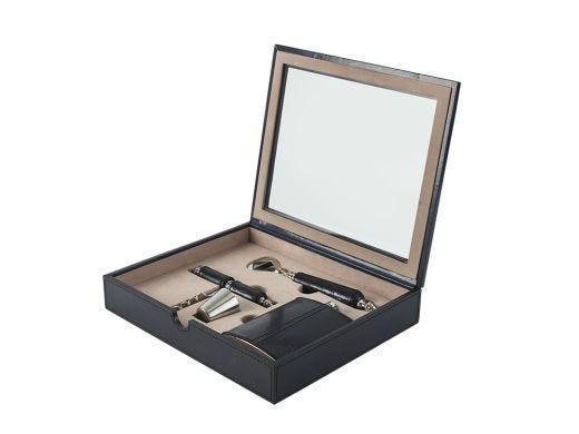 Prussian Bar Tools Box Set, Leather