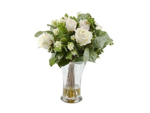 Roses and Hops Floral Arrangement