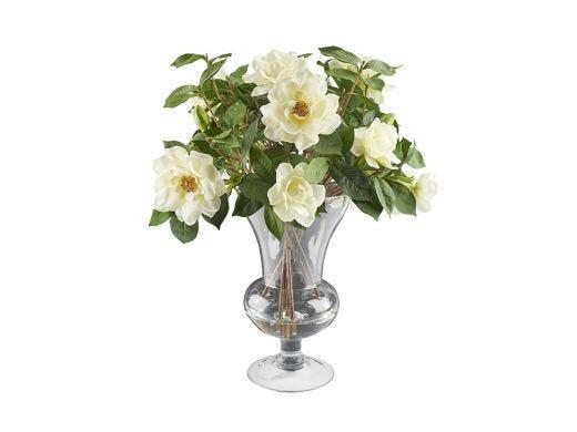 White Gardenia Floral Arrangement