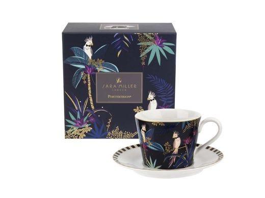Cockatoo Tea Cup & Saucer