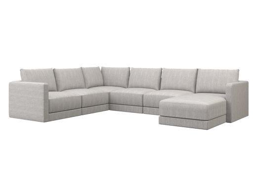 Basel Modular U-Sofa Chaise Sectional