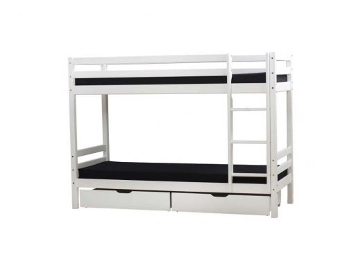 BASIC Bunkbed Non-Divisible, 90x200 White