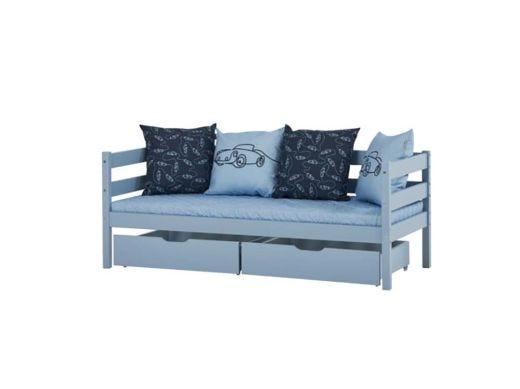 Drawer Set for Bed 70x160, Blue