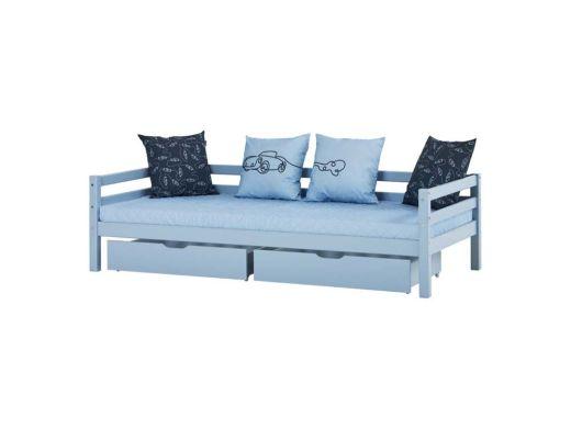 Drawer Set for Bed 90x200, Blue