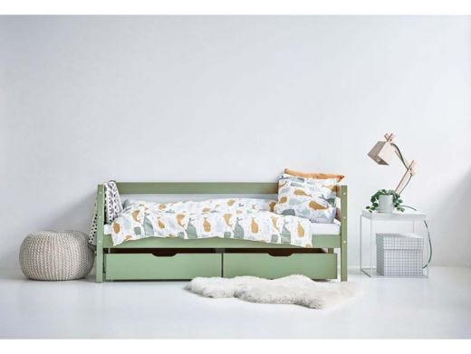 Drawer Set for Bed 70x160, Green