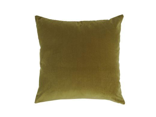 Pine Green Velvet Cushion Cover, 50x50cm