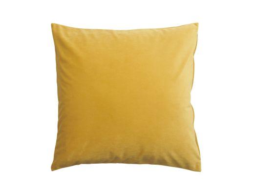 Mustard Velvet Cushion Cover, 50x50cm