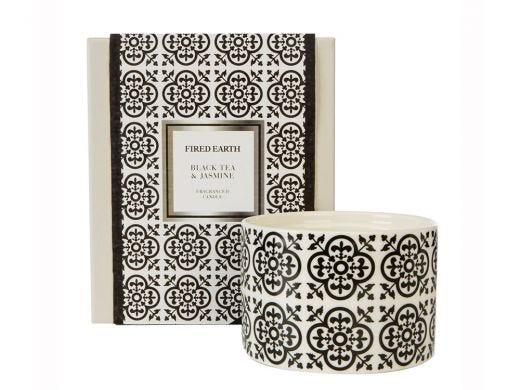 Black Tea & Jasmine Candle Ceramic