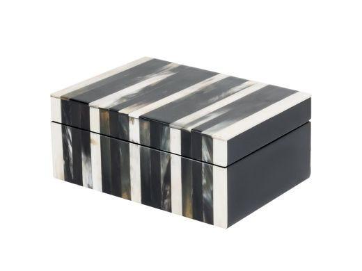 Soho Tricolor Horn Box Small