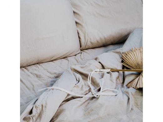 Silver Moon Bedding Set, 100% Bamboo King
