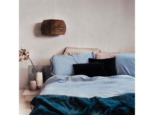 Max's Blue Pillowcase Set of 2, 100% Bamboo