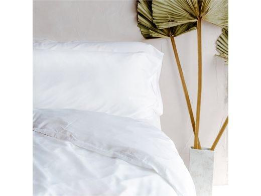 Feather White Pillowcase Set of 2, 100% Bamboo