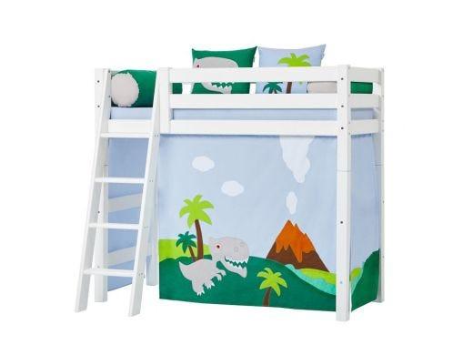 Dinosaur Curtain Mid High bed, 70X160