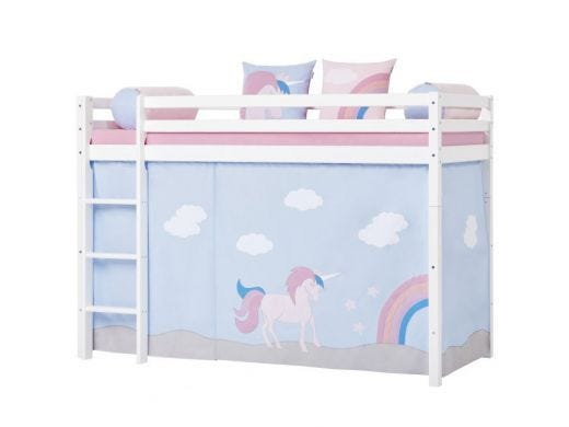 Unicorn Curtain Mid High bed, 90x200