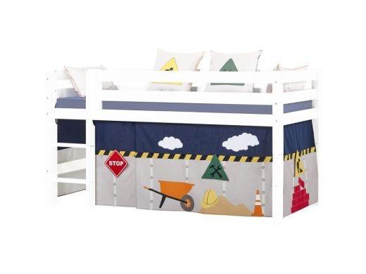 Construction Curtain Half High bed, 70X160