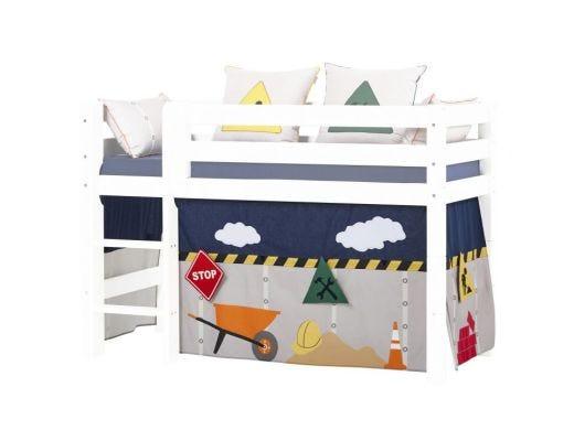 Construction Curtain Half High bed, 90x200