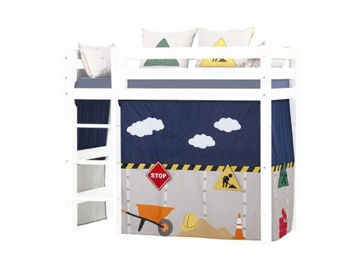 Construction Curtain Mid High Bed, 70X160