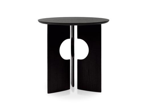 Cove Side Table, Teak Black