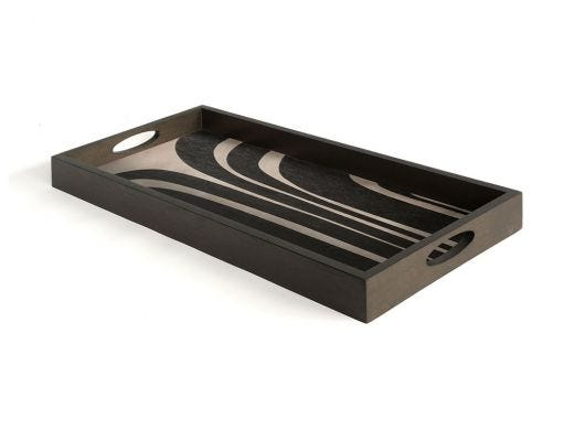 Graphite Curves, Driftwood Tray