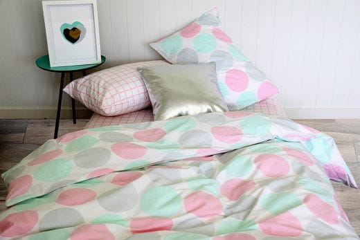 Lily Duvet, Pillowcase & Fitted Sheet