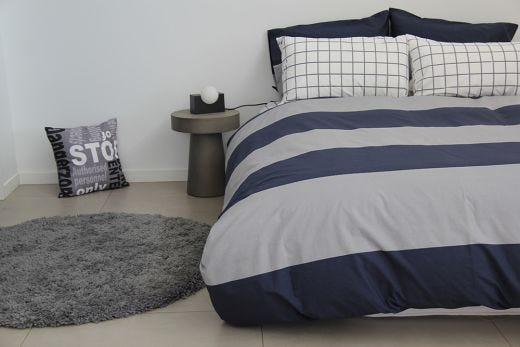George Duvet, Pillowcase & Fitted Sheet Set