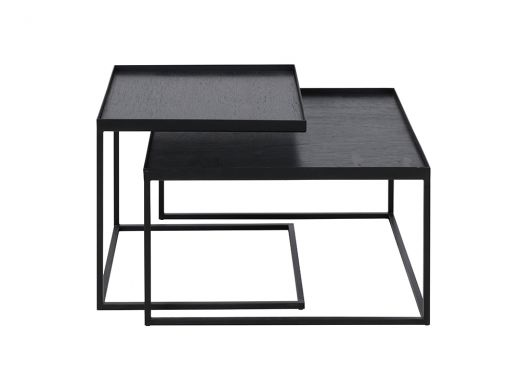 Square Tray Coffee Table Set