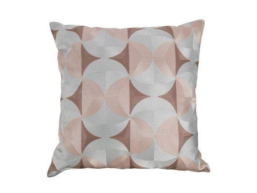 Sleek Curve Cushion Cover Pink