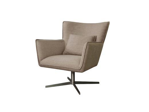 Jacob Swivel Chair, Eton Flax