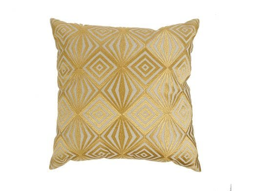 Diamante Cushion Cover Gold