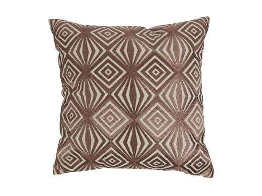Diamante Cushion Cover Mauve