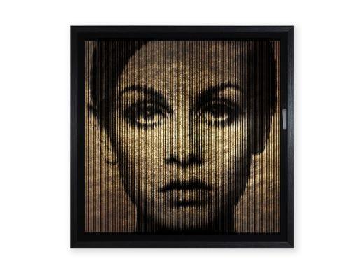 Gold & Silver Leaf Celebrities Artwork