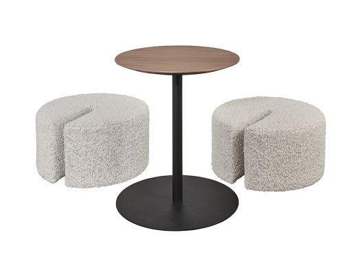 Amara Dual Seat Ottoman Table