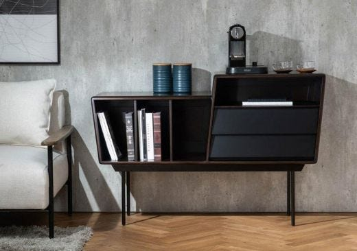 Trento 2 Drawer Small Sideboard