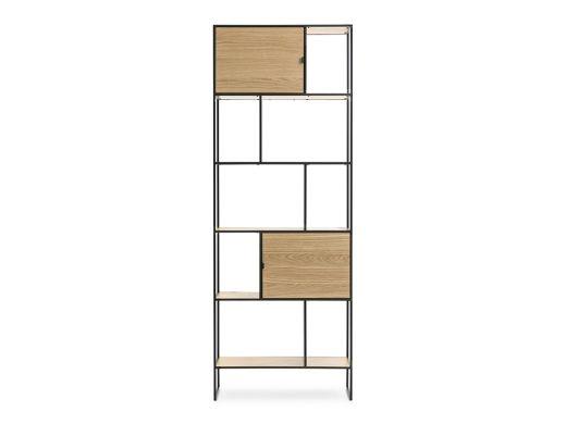 Dice Tall Bookcase, Oak