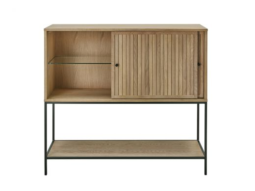 Emily Bar Cabinet, Oak